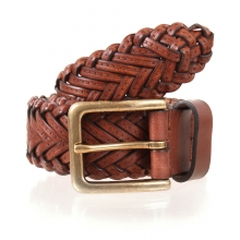 Higgs Leathers LAST FEW!  Style 84040 (men's Plaited Tan Leather belts)